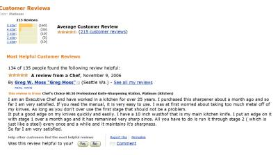 Amazon Reviews Knife Sharpeners