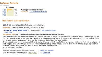 Amazon Reviews Knife Sharpeners